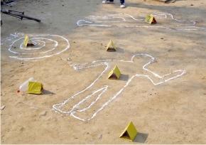 Outdoor Crime Scene Investigation