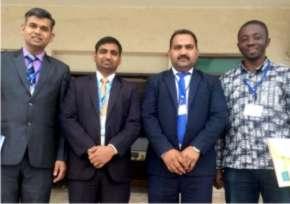 Attending International Seminar