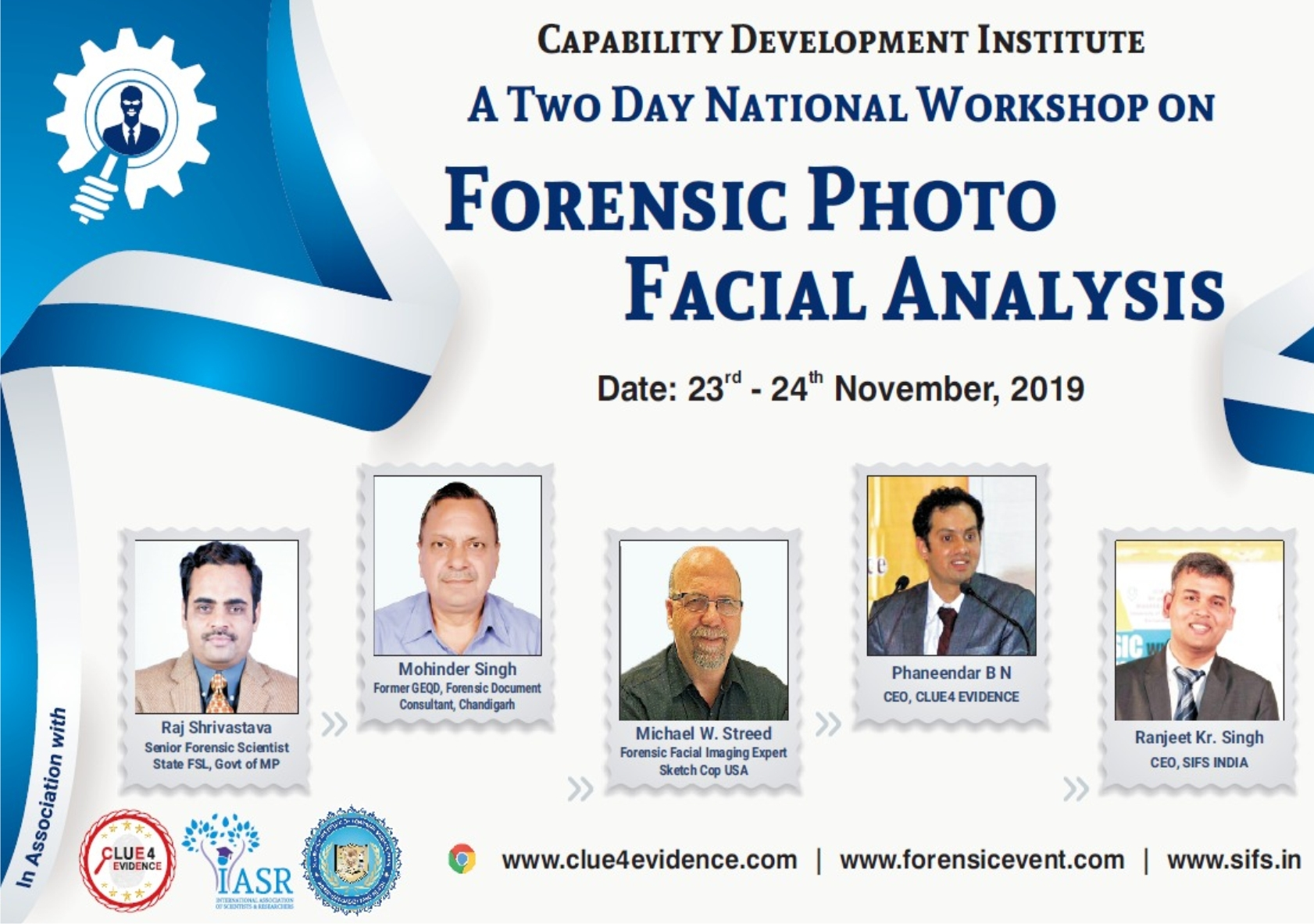 National Workshop- Forensic Photo Facial Analysis