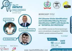 International Workshop DVI ( Disaster Victim Identification )