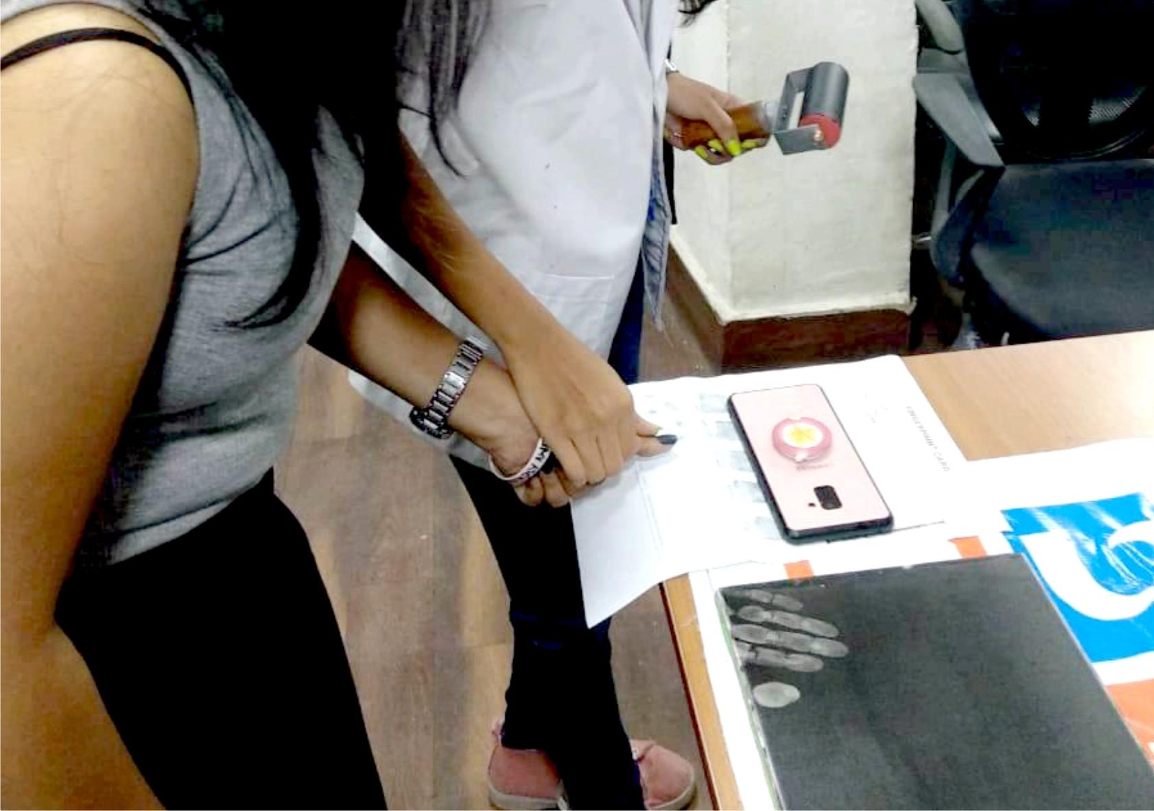 Fingerprint Taking