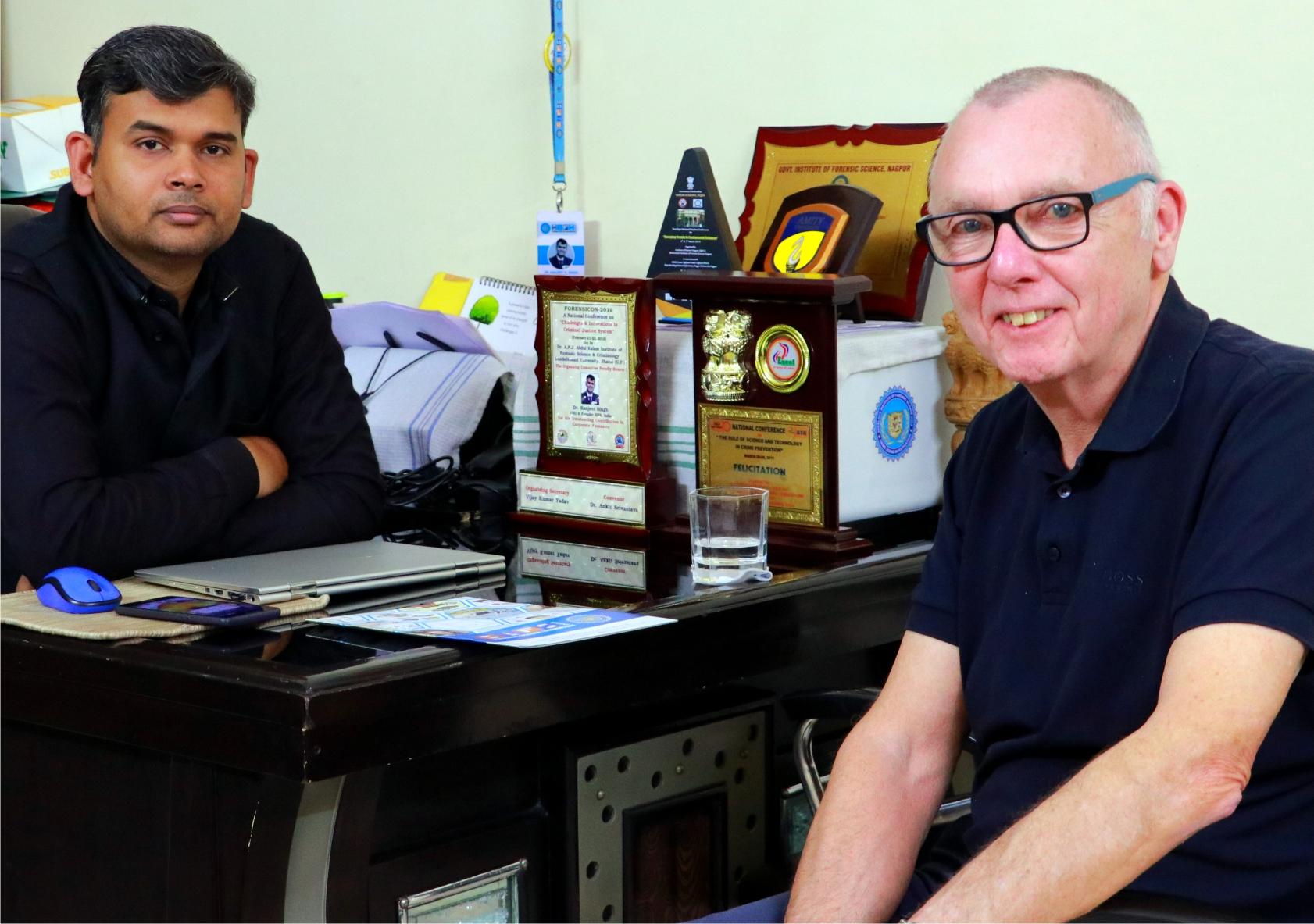 David Herriman Visit SIFS