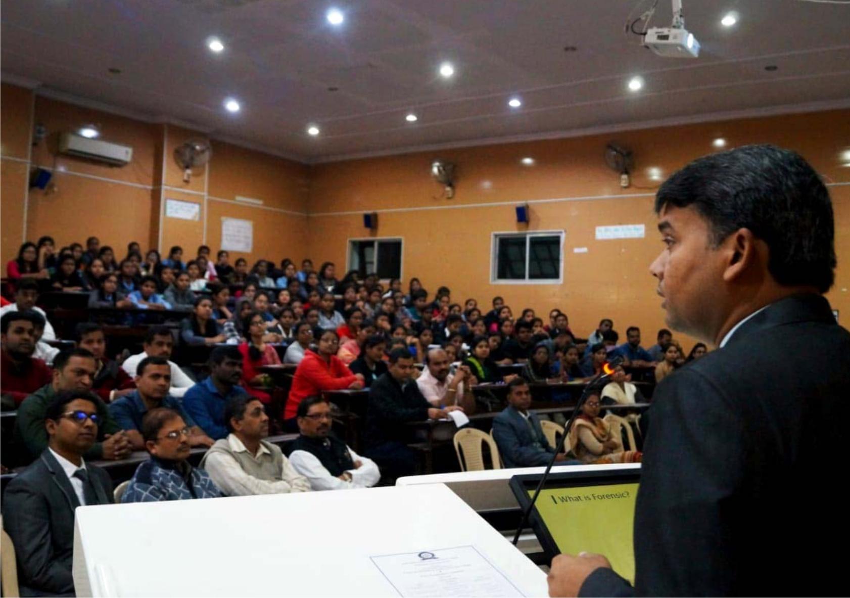 Addressing College Seminar Nagpur 2019