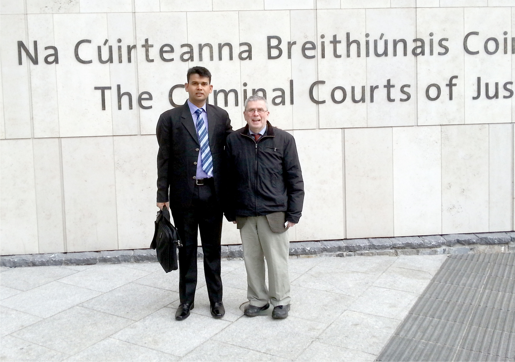 Visit to Criminal Court of Justice Ireland