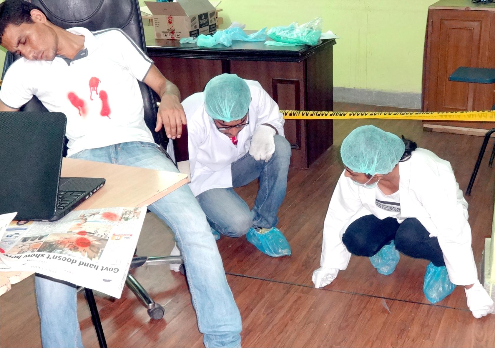 Indoor Crime Scene Investigation