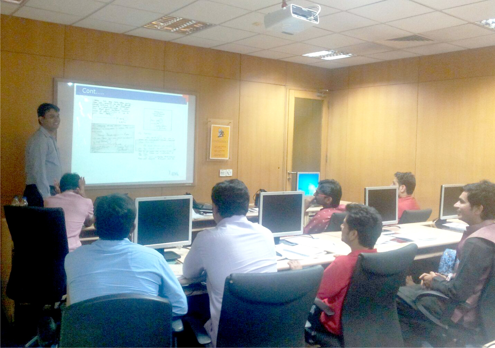 Corporate Training EXL Pune 2015