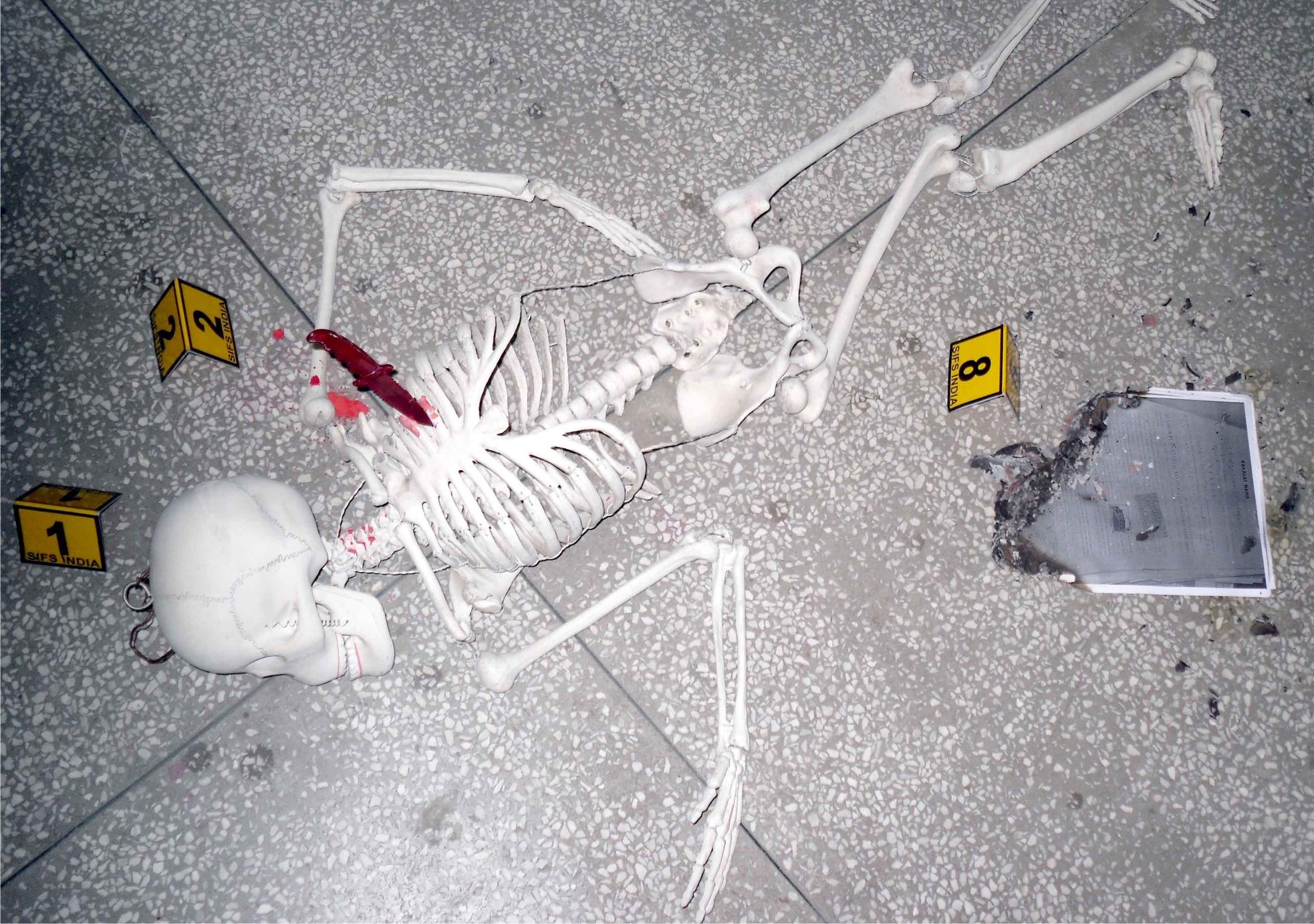 Indoor Crime Scene Investigation 2012