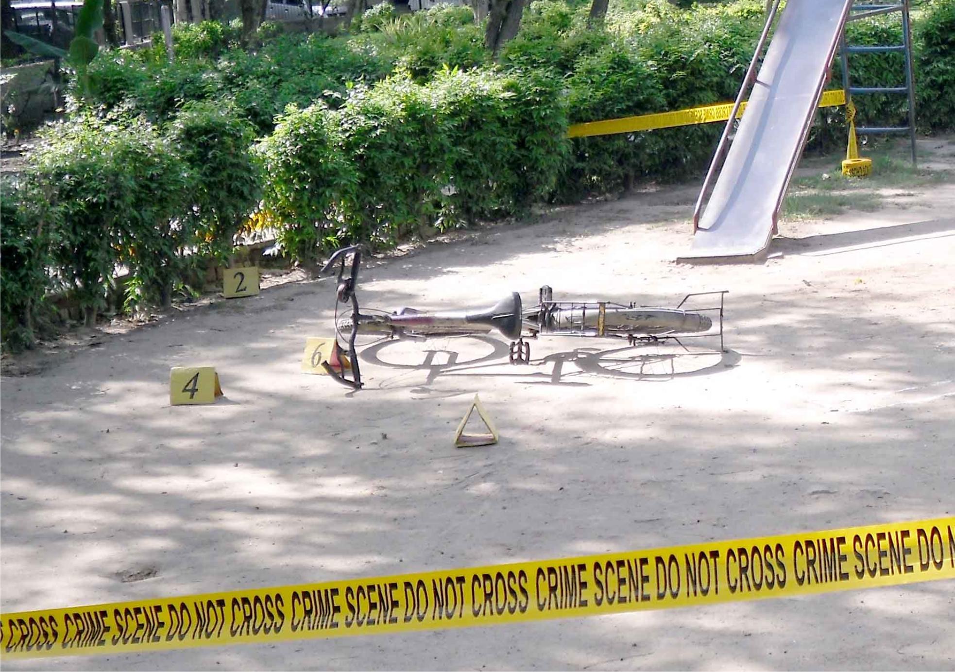 Outdoor Crime Scene Investigation 2012